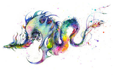 Dragon Tattoo by TanyaShatseva