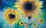 Supermassive Sunflowers by TanyaShatseva