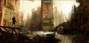 City Ruin by Happy-Mutt