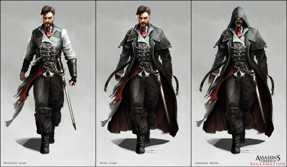 Assassin's Creed V: Character Designs by Happy-Mutt