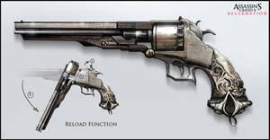 Assassin's Creed V: Reclamation Weapon Design by Happy-Mutt