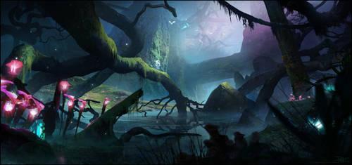 Swamp by Happy-Mutt