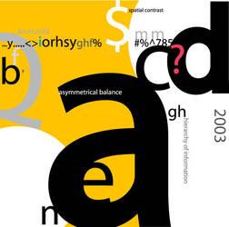 1st Typography by jenkim1