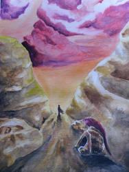 camino de honor by darkwayfarer