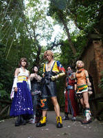 Final Fantasy X by shirokumapancosplay