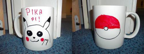 Pikachu mug by Tamanta