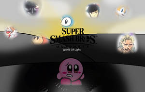 Kirby in The World Of Light by oshawott150