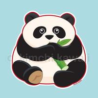 Fat Panda by kimchikawaii