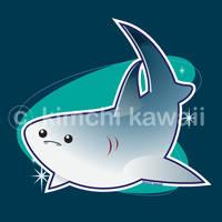Shark by kimchikawaii