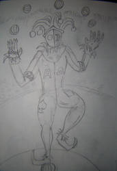 the juggler by robertoadder8