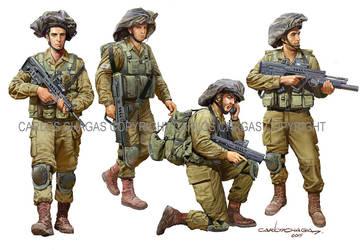 idf modern soldier 2016 by guy191184