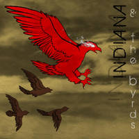 Indiana and the Byrds CD cover by fluffyz