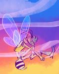 BennyBee rainbows by fluffyz