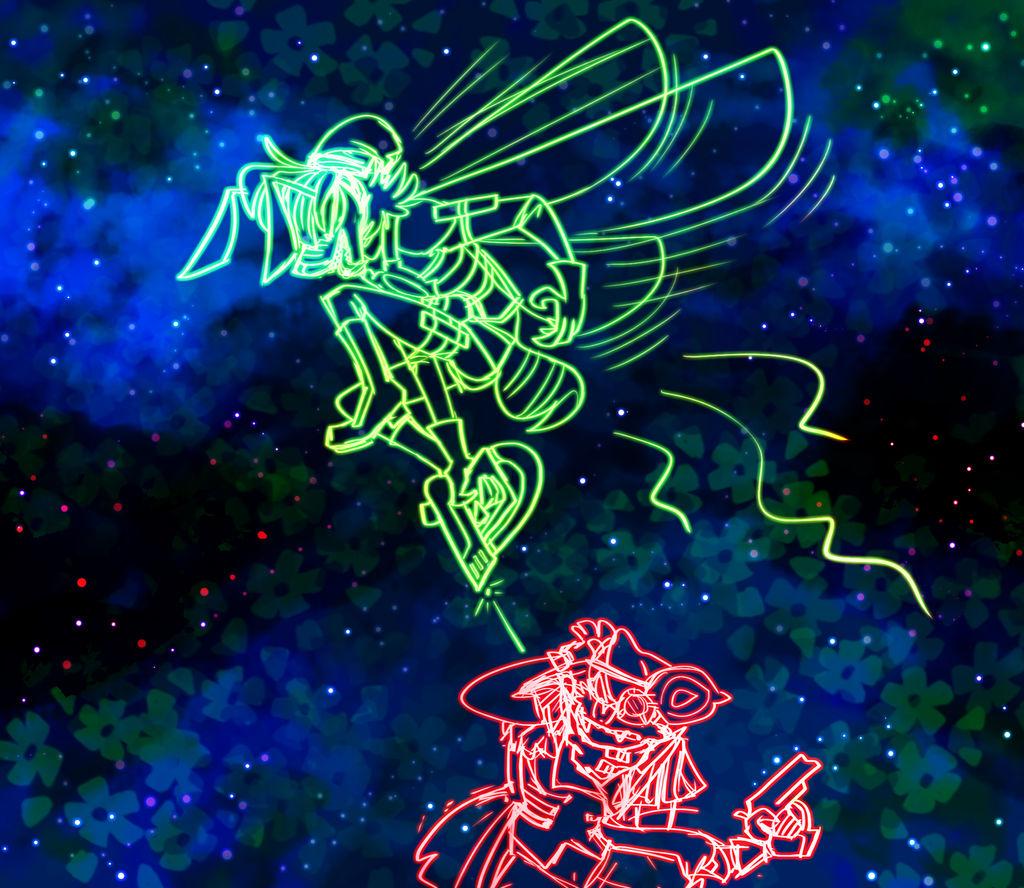 Neon Sketches by fluffyz