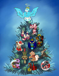 Xotiathon Christmas Tree by fluffyz