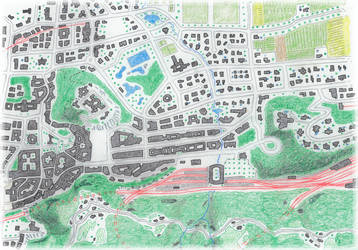 Alternative map of Bellinzona by Mike1Wallace