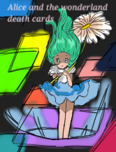 Alice and the wonderland death cards by Atara-parakitty