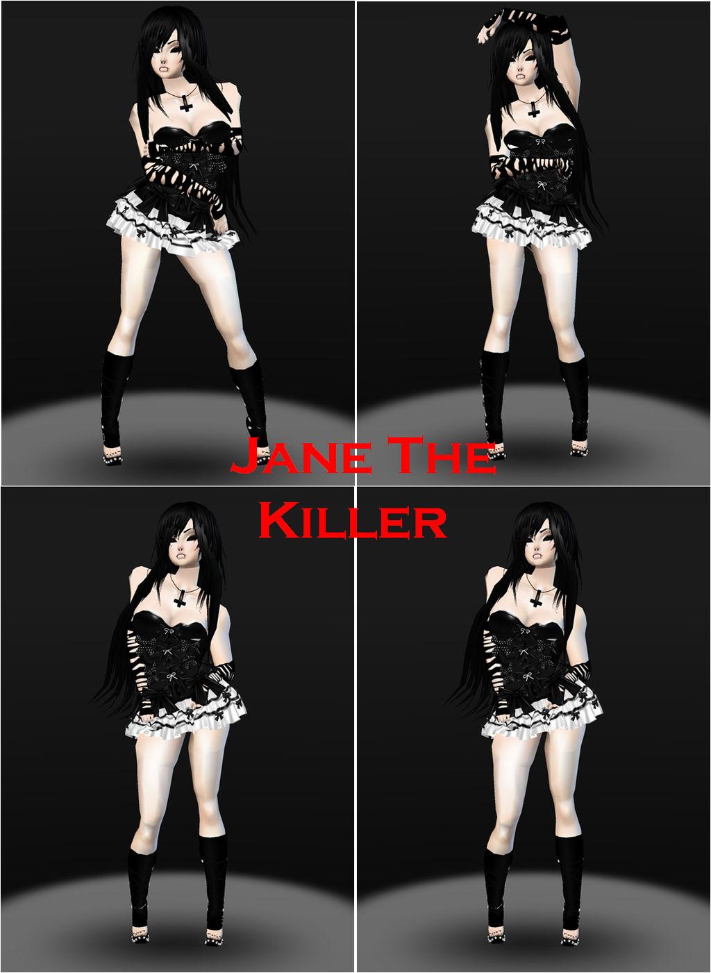 Jane The Killer (Imvu Cosplay) by N00dleChan