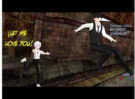 Kaworu And Kaneki XD by N00dleChan