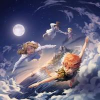 Peter Pan by nikogeyer