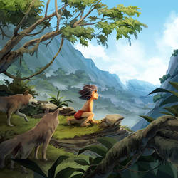 The Jungle Book by nikogeyer