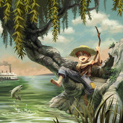 The Adventures of Tom Sawyer by nikogeyer