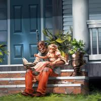 Uncle Tom's Cabin by nikogeyer