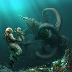 20,000 Leagues Under the Sea by nikogeyer