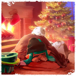 Merry Squidmas! by nikogeyer