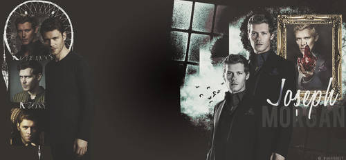 Joseph Morgan Twitter Background by MidnightRippah
