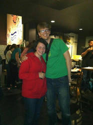 Did I uh, Mention That I Met Hank Green? by kgfuzzycow
