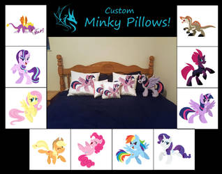 OPEN! Minky Pillow Commissions by Fire-Topaz
