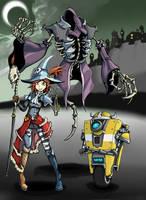 Gaige the Necromancer by rooki1