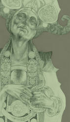 Priestess by shichinin-tai