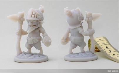 Goblin 3d print by Minola-Belka