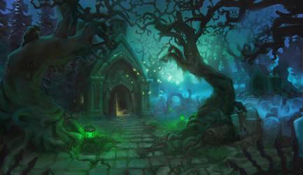 Graveyard by Minola-Belka