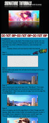 City view signature tutorial by penqz