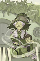 My granny and I by Arboriss