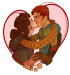 My valentine by Arboriss