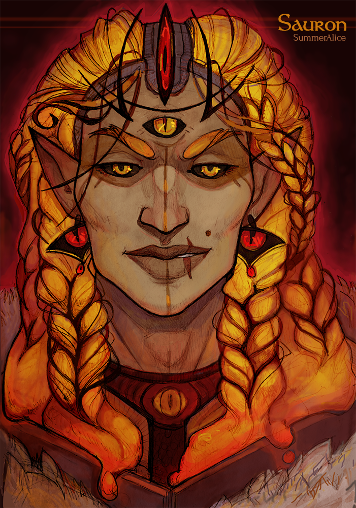 Fire of Sauron by Arboriss