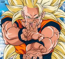 Goku Ssj3 New Movie Style by daimaoha5a4