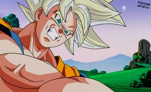 Goku Ultra Instinct in ssj saga buu style by daimaoha5a4