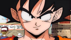 Teen Goku in New Movie style by daimaoha5a4