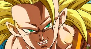 Goku Super Saiyan 3 in New Movie Style by daimaoha5a4