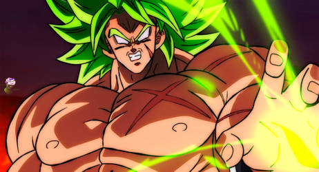 Broly Ssj Full Power Shintani Movie style by daimaoha5a4