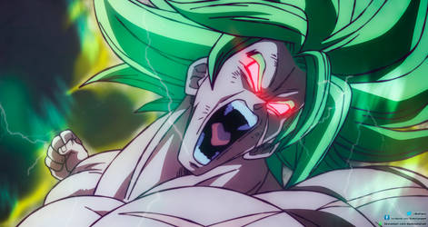 Broly Ssj Full Power 200% Triggered by daimaoha5a4