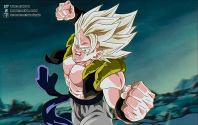 Gogeta in broly 1993 movie by daimaoha5a4