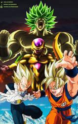 Dragon Ball Super Broly Collab by daimaoha5a4
