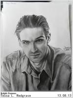 Ralph Fiennes Portrait by AmmyxDante