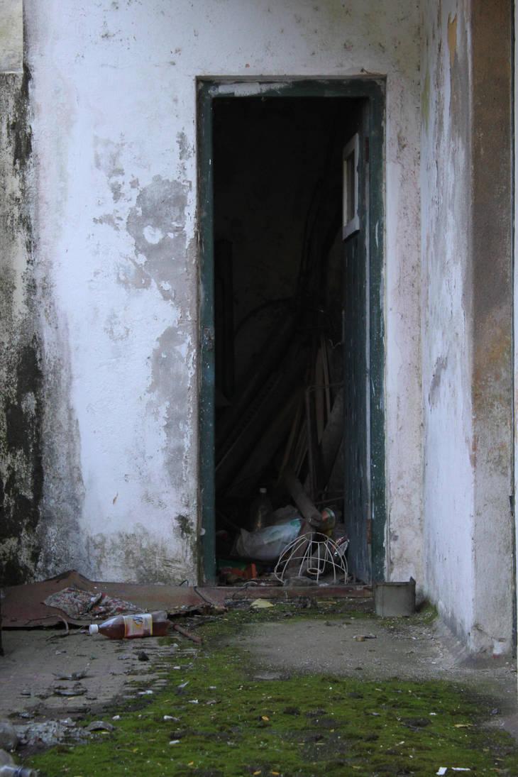 Old door by photoshop-stock